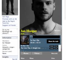 SoundCloud widget for Facebook