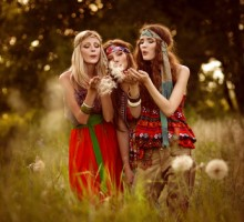 Hippie fashion