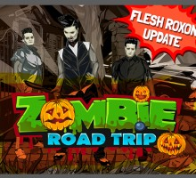 Zombie Road Trip & Flesh Roxon