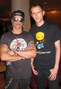 Working with Slash & his team was the experience (only possible thanks to UG)