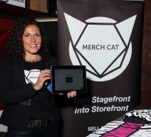 Merch Cat at CMJ 2015