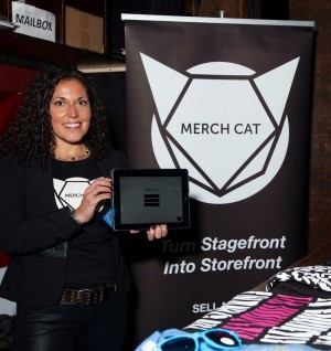 Merch Cat at CMJ 2015