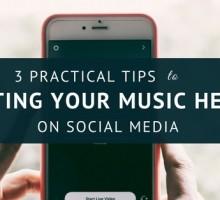 Getting Your Music Heard