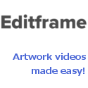 Editframe – Create artwork videos in seconds